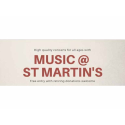 Free recital series at St Martin's Epsom