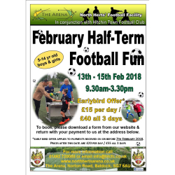 February Half-Term Football Fun in BALDOCK