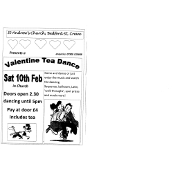 Valentine Tea Dance