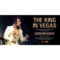 The King In Vegas - As performed by Gordon Davis and Full Live Band