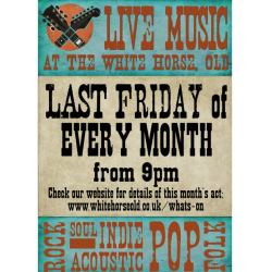 Live Music at The White Horse Old.