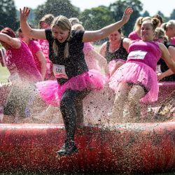 Cancer Research Pretty Muddy Kids - Margate