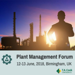 Plant Management Forum, Birmingham, 2018
