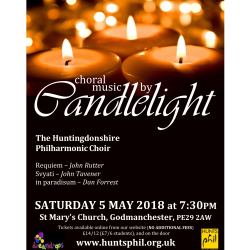 Choral Music by Candlelight