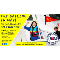 Ely Sailing Club Open Day 2018