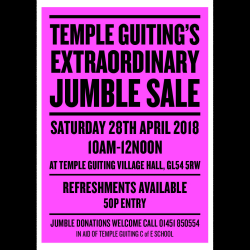 Temple Guiting's extraordinary jumble sale