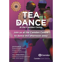Camden Centre Tea Dance