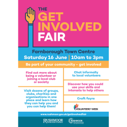 Get Involved Fair in Farnborough