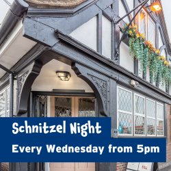 Schnitzel Night at The Prince George