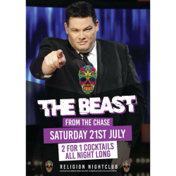 Meet The Beast from The Chase @ Religion Nightclub Walsall