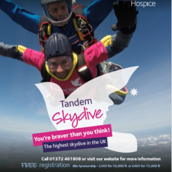 Skydive for Princess Alice Hospice