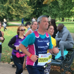 Royal Parks Half Marathon with Princess Alice Hospice @PAHospice