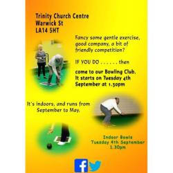 Bowls Club at Trinity Church Centre