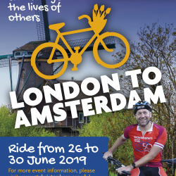 London to Amsterdam Cycle Challenge