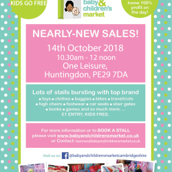 Baby & Childrens Market Nearly New Sale