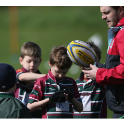 Weybridge Vandals RFC Harlequins October half-term community camp
