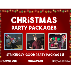 Christmas Party Time at AMF Bowling