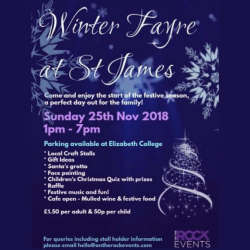 WINTER FAYRE AT ST JAMES