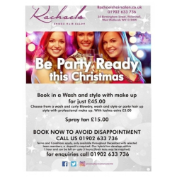 Get Christmas Party Ready at Rachael's