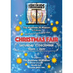 The Matthew 25 Mission Christmas Fair