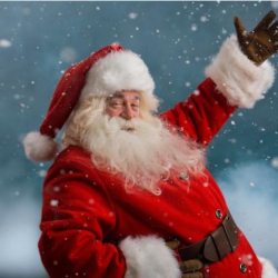 Meet Father Christmas at Castle Quay Shopping Centre