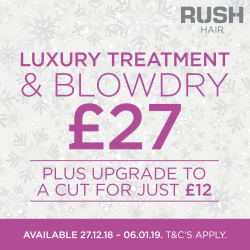 Get Party Ready at Rush Hair Milton Keynes
