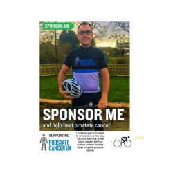 Help Simon raise funds for Prostate cancer UK