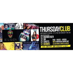 Thursday Club at Religion Walsall