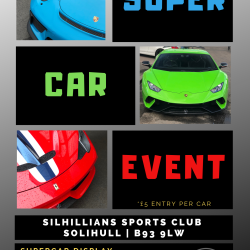 SOLIHULLS CHARITY SUPERCAR EVENT