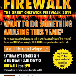 The Great Chiswick Firewalk 2019