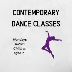 Contemporary Classes at Repertoire Dance and Performing Arts, Willenhall