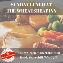 Sunday Lunch at The Wheatsheaf Inn