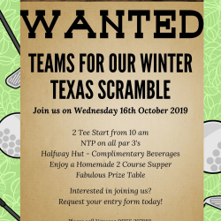 Winter Texas Scramble
