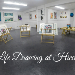 Life Drawing at Hicca