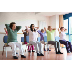 Chair-based exercise class