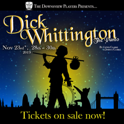 Dick Whittington - the panto! by Joshua Clarke and Lewis Clarke