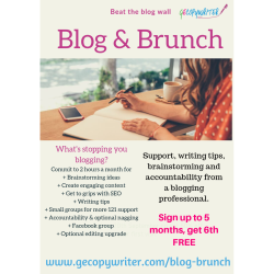 Blog & Brunch with GECopywriter