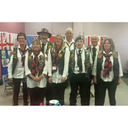 Royal British Legion Riders Branch at Barrow Market