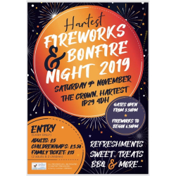 Hartest Fireworks at The Crown