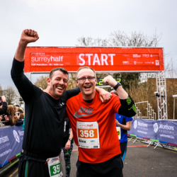 Mercer Surrey Half Marathon - 08 March 2020