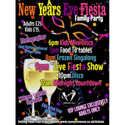 New Year's Eve Fiesta Family Party – 31/12/19