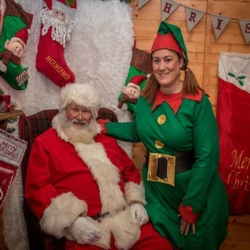 Visit Father Christmas at St Tydfil Shopping Centre