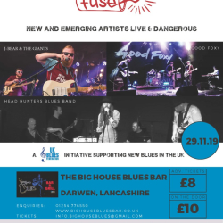 UKBLUES FUSE - NW  -  Live at The Big House Blues, Darwen