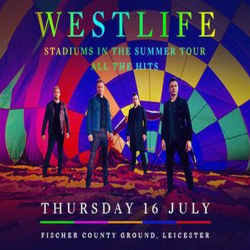 Westlife - Stadiums in the Summer Tour - Leicester