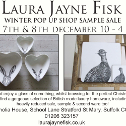 Laura Jayne Fisk - Winter Pop up Shop