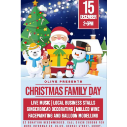Christmas Family Fun Day at Olive