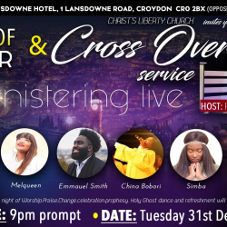 Christ's Liberty Church, End of Year and Cross-Over Service