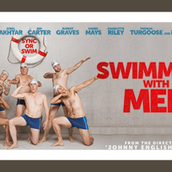 Film Night and Fish Supper Showing Swimming with Men