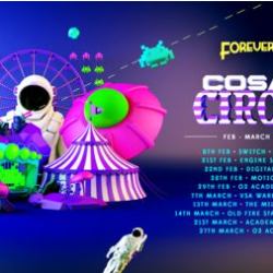 Foreverland Cardiff . Cosmic Circus Rave