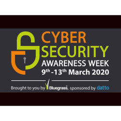 Cyber Security Awareness Week 2020 - Launch Event
